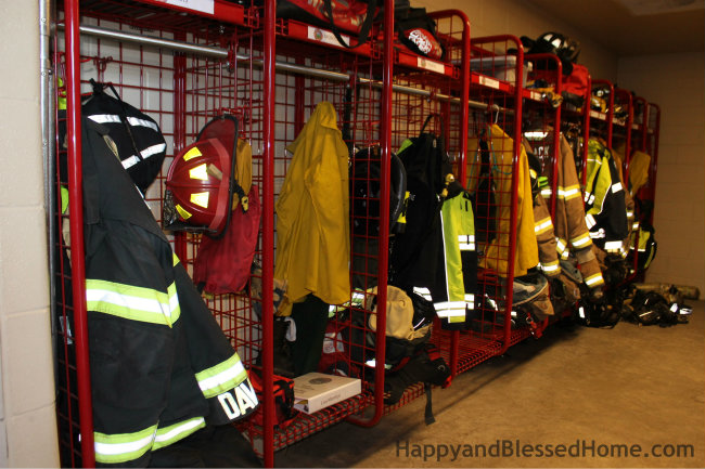 Better than the NFL Locker Room Firefighter Gear HappyandBlessedHome.com