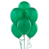 Birthday Express Green Balloons