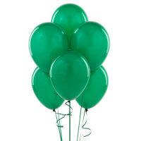 Birthday Express Green Balloons