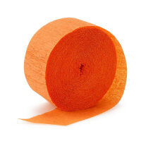 Birthday Express Orange Streamer
