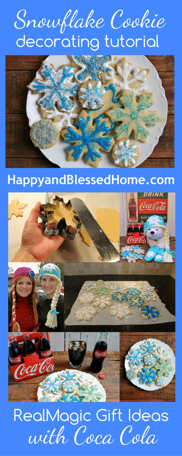 Creating RealMagic with Coca Cola and a Snowflake Cookie Tutorial and Recipe HappyandBlessedHome.com