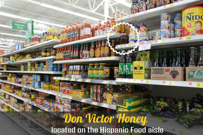Don Victor Honey - Located on the Hispanic Food aisle HappyandBlessedHome.com