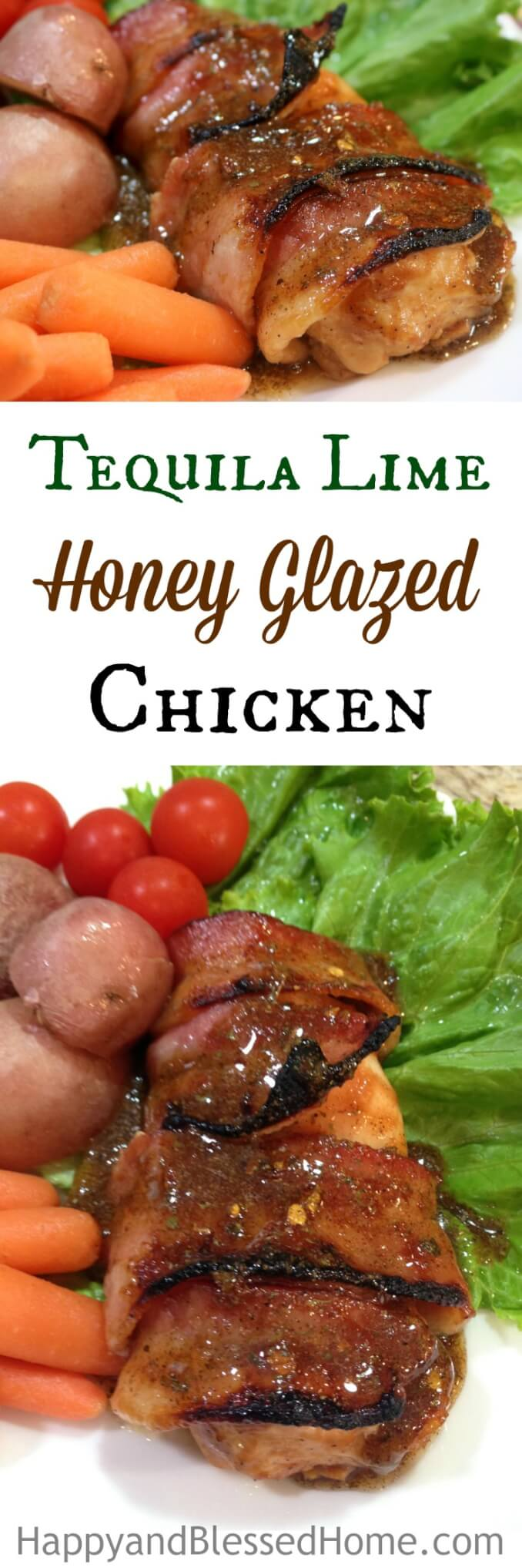 Easy Recipe for Mouthwatering Tequila Lime Honey Glazed Chicken with Bacon