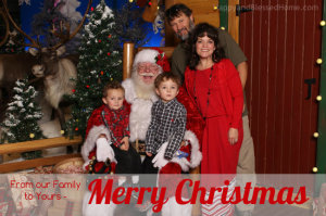 From our Family to Yours Merry Christmas 2014 HappyandBlessedHome.com