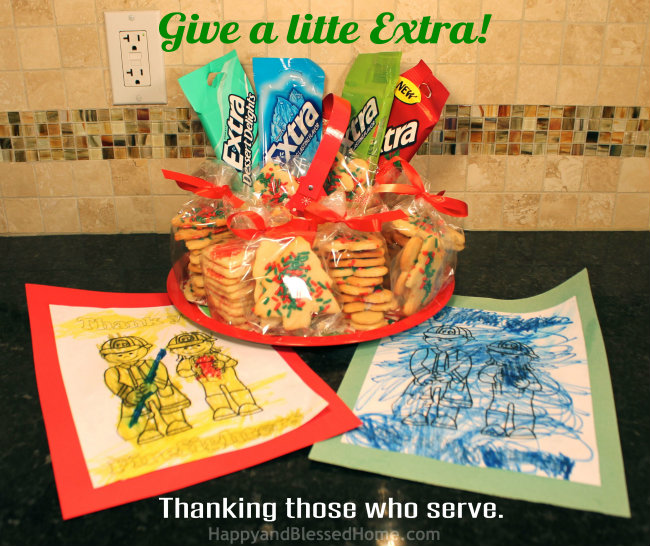 Give a little Extra Gum and Thank those who Serve HappyandBlessedHome.com