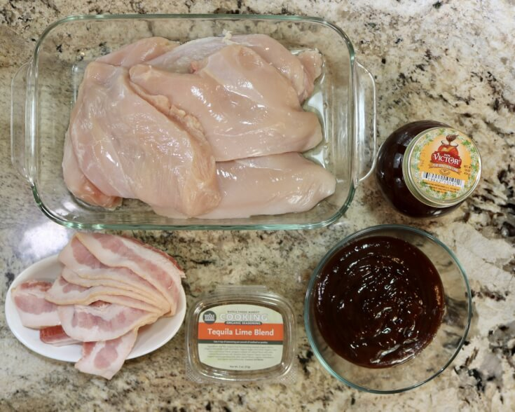Ingredients for Tequila Lime Honey Glazed Chicken