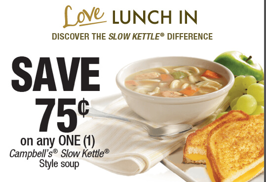 Love Lunch In Coupon for Campbells Soup