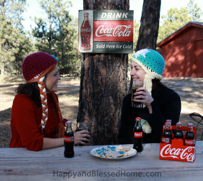 Share the Magic This Holiday with Coca Cola HappyandBlessedHome.com 650