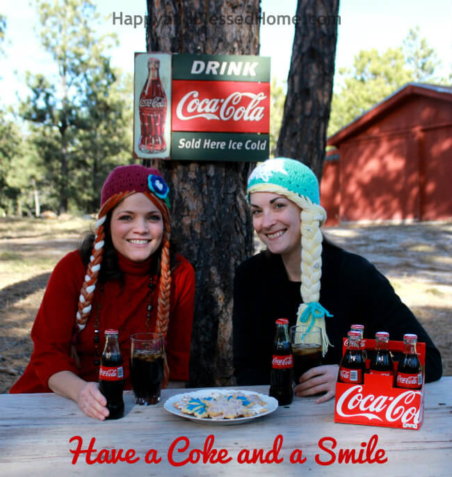 Share the #RealMagic and a Smile this Holiday with Coca Cola HappyandBlessedHome.com 650