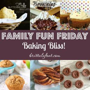 Baking Recipes Baking Bliss Family Fun Friday