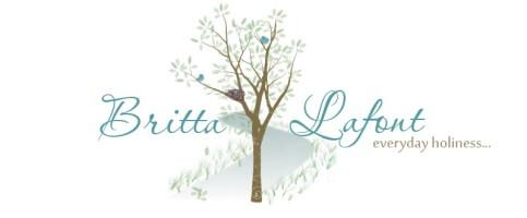 Britta LaFont Logo