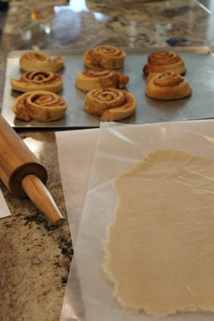 Create your own Superhero Breakfast with Pepperidge Farm Sweet Rolls Roll out Dough from HappyandBlessedHome.com