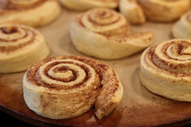Create your own Superhero Breakfast with Pepperidge Farm Sweet Rolls put on stone from HappyandBlessedHome.com