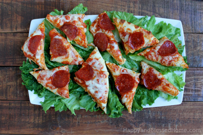 DiGiorno® Pepperoni STUFFED CRUST® Pizza on Football Party Tray from HappyandBlessedHome.com
