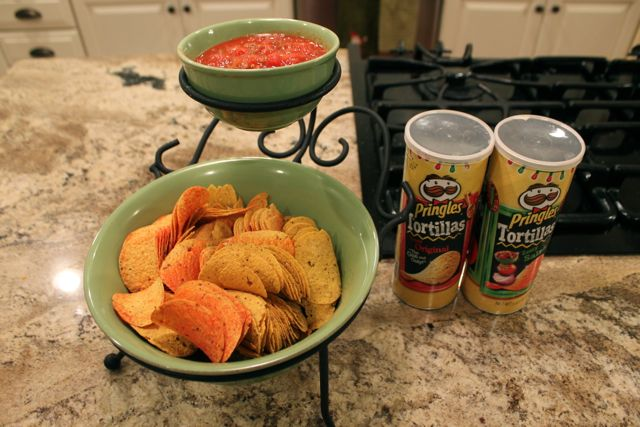 Pringles Chips for Game Day Football Party Food from HappyandBlessedHome