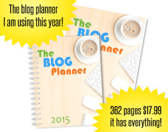 The Blog Planner on Amazon