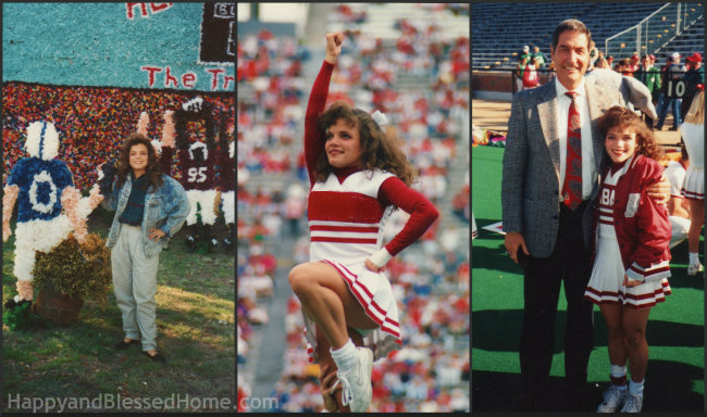 The University of Alabama old Cheerleading and Football Photos from HappyandBlessedHome