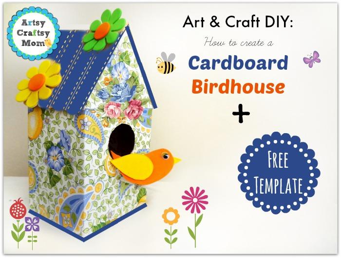 Art-Craft-DIYHow-to-create-a-cardboard-birdhouse