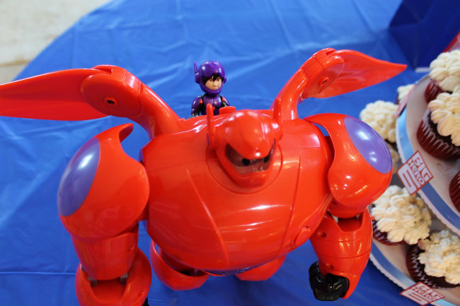 Big Hero 6 Baymax Toy with flying sounds from Walmart
