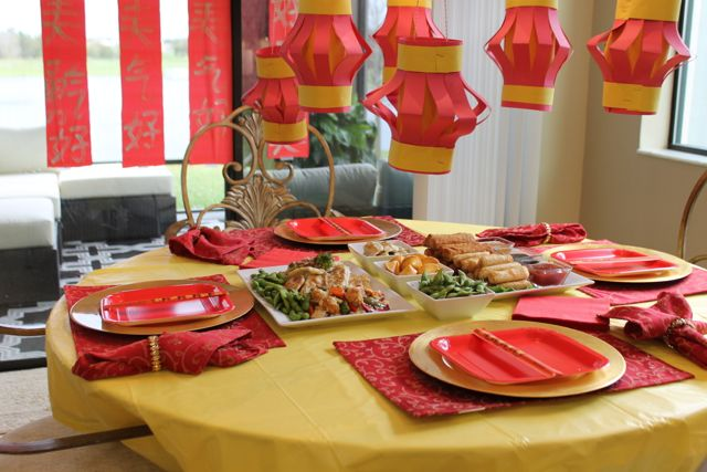 Create the perfect Chinese New Year Celebration with these tips from HappyandBlessedHome