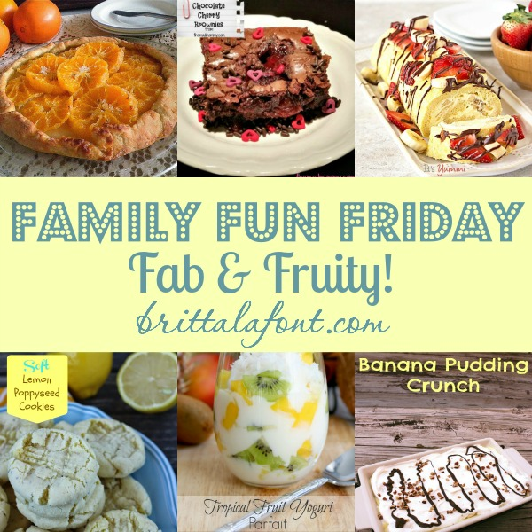 Delicious Fruit Recipes Family Fun Friday