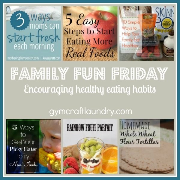Encouraging healthy eating habits