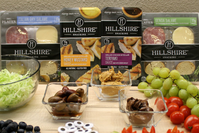 Hillshire™  Snacking Small Plates and Chicken Bites Ingredients for Bento Boxes
