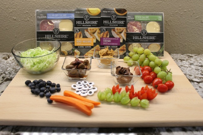 Hillshire Farms Bento Box Ingredients from HappyandBlessedHome