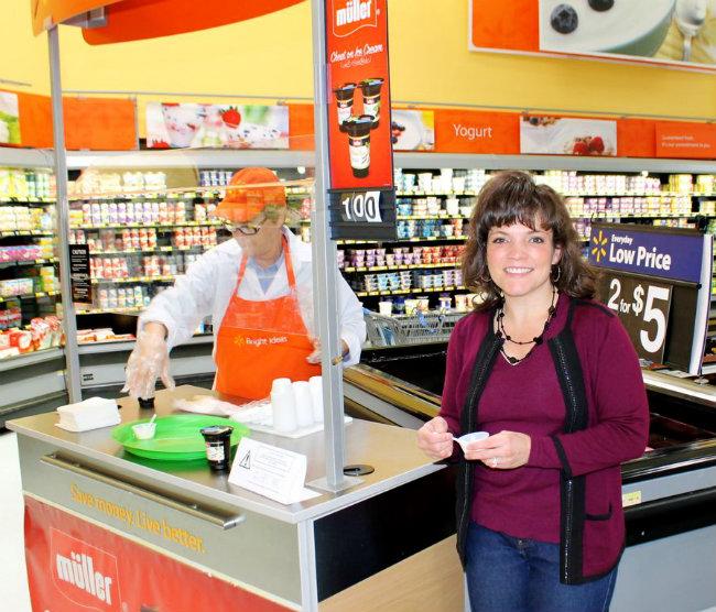 Taste Müller® Raspberry Chocolate Chip Yogurt and Vanilla Bean Yogurt at Walmart from HappyandBlessedHome.com