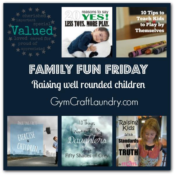 raising well rounded kids