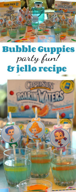 250 Bubble Guppies Party Fun and Jello Recipe from HappyandBlessedHome
