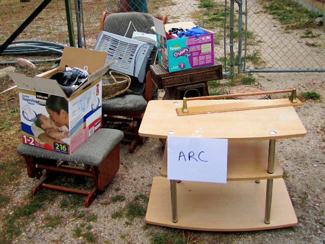 ARC Donations keep things out of Landfills - Reuse and Recycle