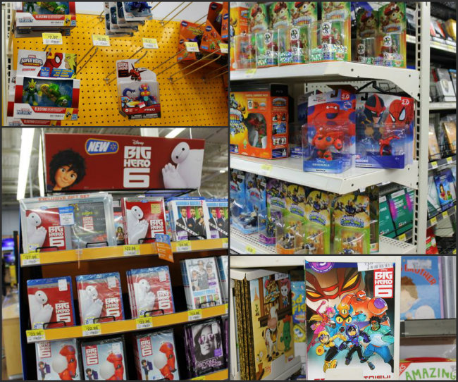 Big Hero 6 DVD Movie Toys Books and Video Games at Walmart