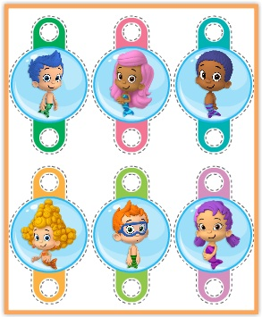 Free printables bubble guppies jello recipe and nickelodeon kids bubble kitty puzzle pack bubble guppies straw flags maxwellsz