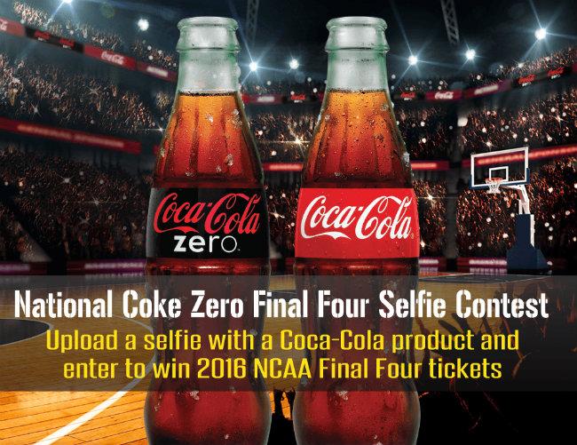 Coca-Cola NCAA® March Madness National Coke Zero Final Four Selfie Contest