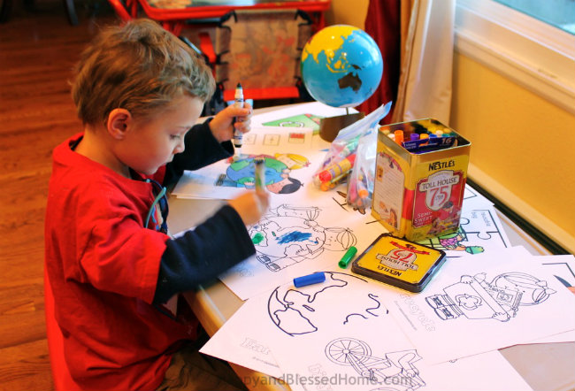 Coloring Earth Day Printables FREE Earth Day Worksheets from HappyandBlessedHome.com