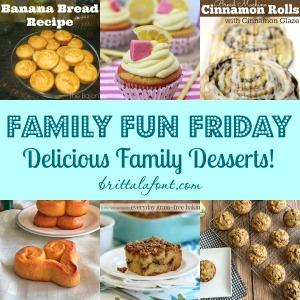 Delicious Family Desserts