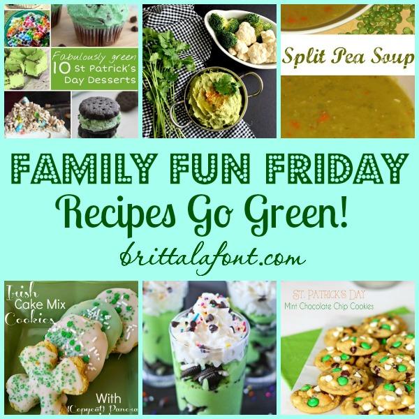 Green Recipes on Family Fun Friday