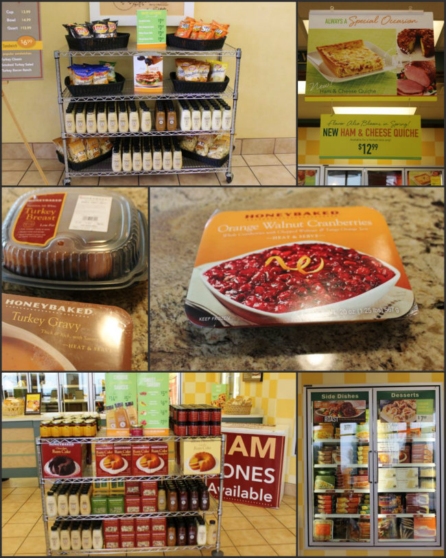 HoneyBaked Ham Stores offer a wide variety of main course and side dishes