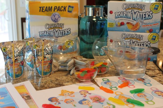 Ingredients for Bubble Guppies Jello