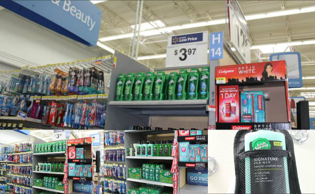 Irish Spring Body Washes and Signature Bar Soaps can be found in the health and beauty section at Walmart