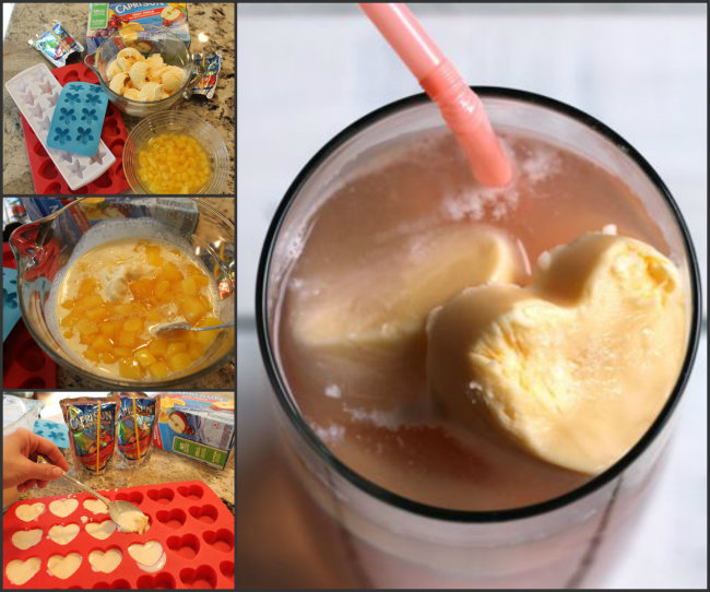 Mango Ice Cream and Capri Sun Float from HappyandBlessedHome.com