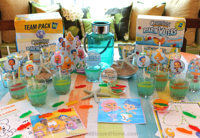 Nickelodeon Kids Choice Awards, Capri Sun Roarin Waters and Bubble Guppies Jello from HappyandBlessedHome.com