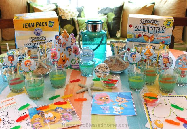 Nickelodeon Kids Choice Awards, Capri Sun Roarin Waters and Bubble Guppies Jello from HappyandBlessedHome.com