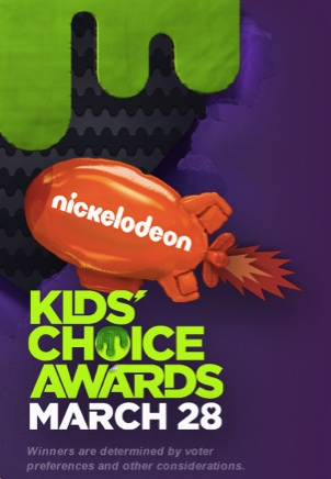 Nickelodeon is hosting the Kids' Choice Awards on Saturday, March 28th