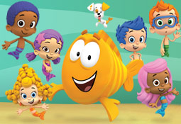 Our friends from Bubble Guppies on Nick Jr