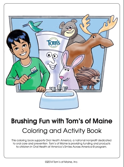 Tom's of Maine Coloring Book