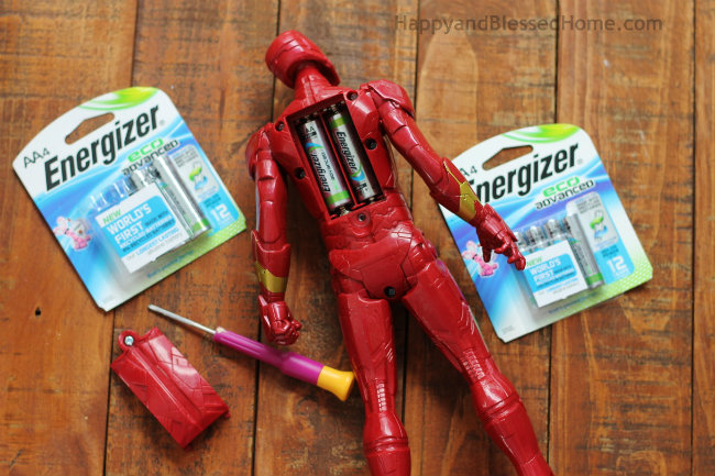 Use Recycled Batteries to Power Up Toys from HappyandBlessedHome