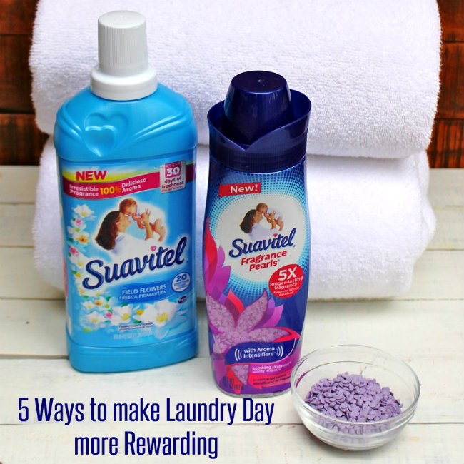 5 Ways to make Laundry Day more Rewarding Article from HappyandBlessedHome.com