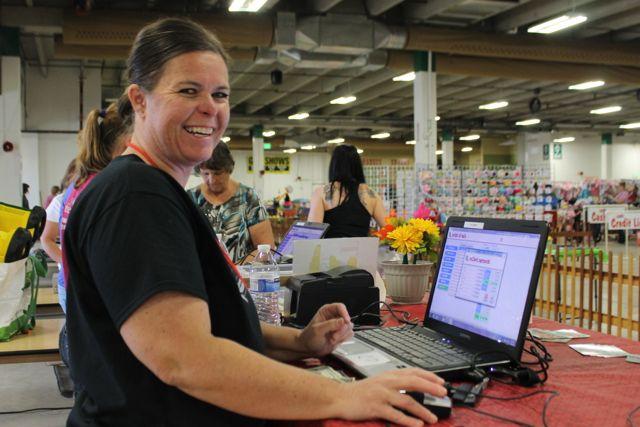 Amanda a Cashier at JBF